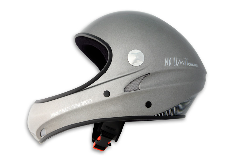 HHe310 No Limit anthracite metallic without visor